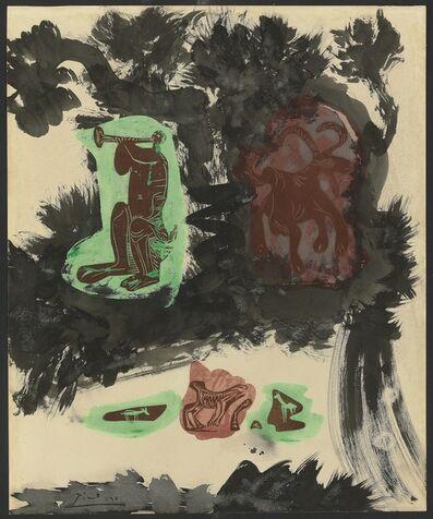 Pablo Picasso, 'Paysage avec faune et chèvre', 1963