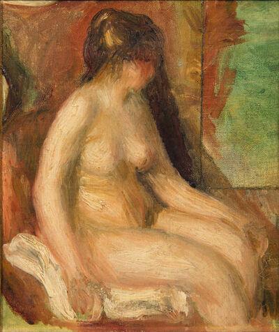 Pierre-Auguste Renoir, 'Femme nue assise', circa 1900