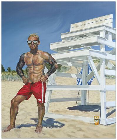 Patty Horing, 'Beach Defense', 2018