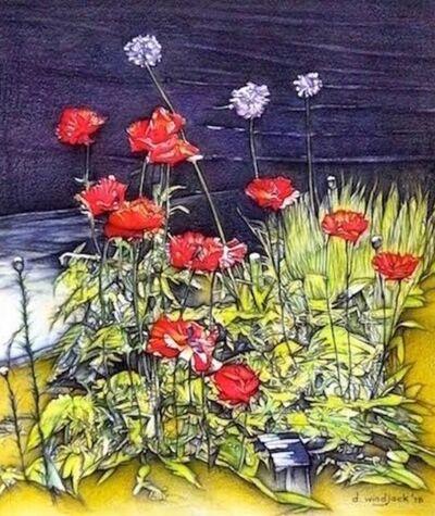 Darrell Windjack, 'Majestic Poppies ', 2018