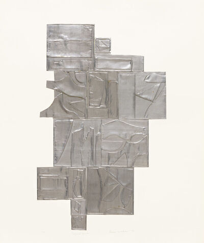 Louise Nevelson, 'Tropical Leaves, Lead', 1972