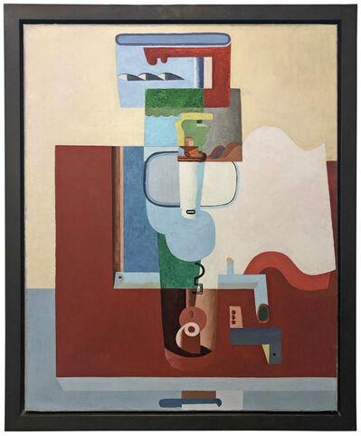 Le Corbusier, 'Table, bouteille et livre', 1926