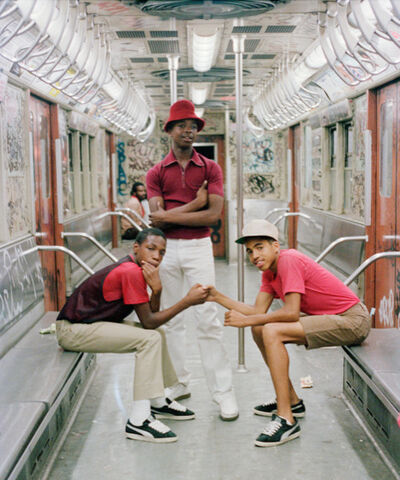 Jamel Shabazz, 'Trio, Brooklyn, NYC ', 1980