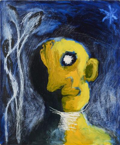 Ken Kiff, 'Yellow Head, Night', 1989