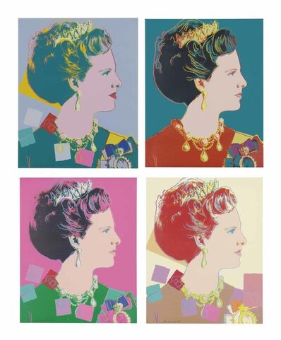 Andy Warhol, 'Queen Margrethe Royal edition ', 1985
