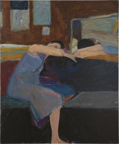 Richard Diebenkorn, 'Sleeping Woman', 1961