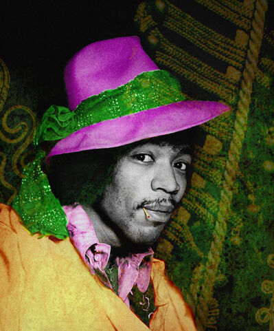 Gered Mankowitz, 'Jimi Hendrix Wearing Hat'