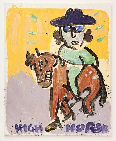 Kate Groobey, 'High Horse ', 2017