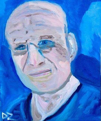 Douglas Zimmerman, 'Self in Blue', 2017