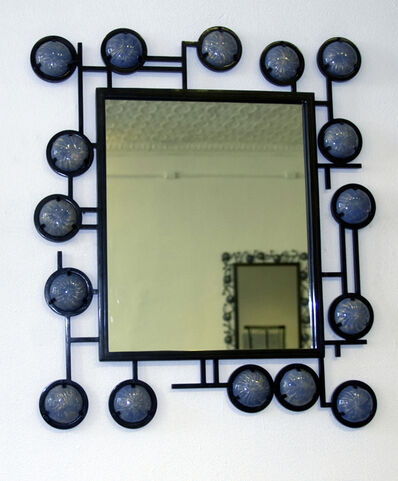 Christophe Côme, 'Blue Enamel Mirror', 2009