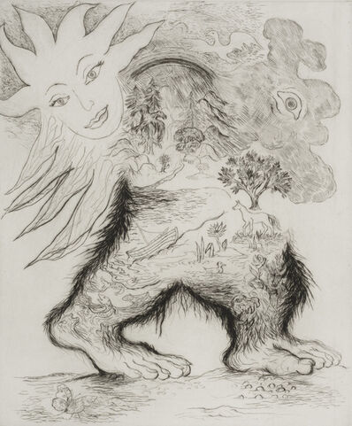 Ken Kiff, 'Man Walking', 1991