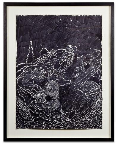 Bruce Conner, 'NEON NIGHT WICHITA, KANSAS', 1963