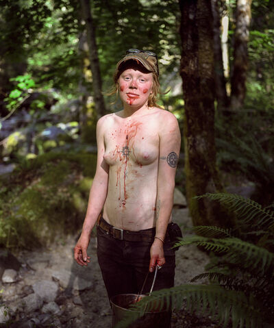 Adrian Chesser, 'Blood Makeup', 2006-2012