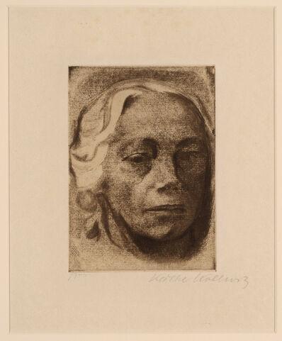 Käthe Kollwitz, 'Selbstbildnis', 1912