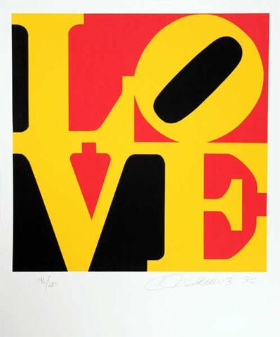Robert Indiana, 'The Book of Love 9', 1996