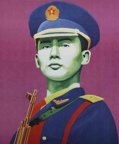 Christian Develter, 'Chinese Guard', 2008