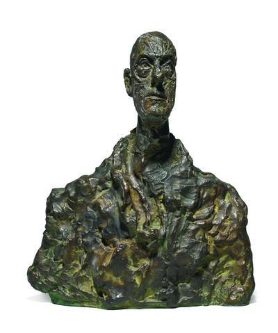 Alberto Giacometti, 'Buste de Diego', 1959