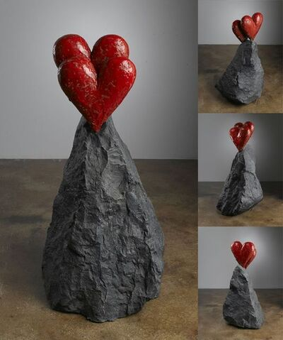 Jim Dine, 'New Other Heart on a Rock', 2009