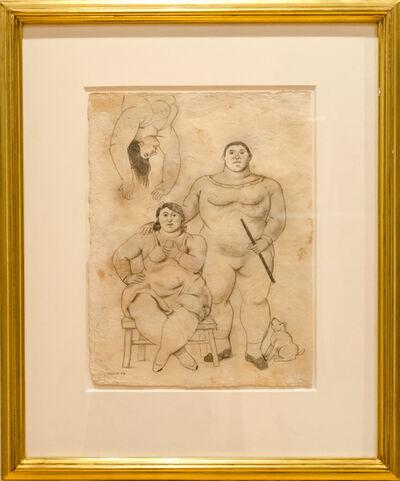 Fernando Botero, 'Acrobats', 2007