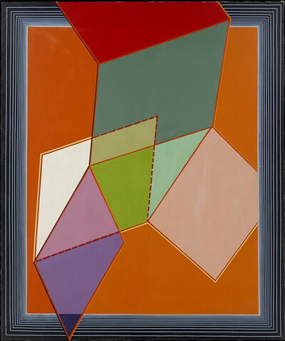 Alvin Loving Jr., 'Variations on a Six Sided Object', 1967