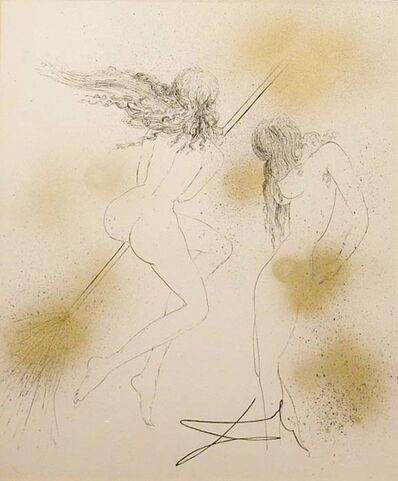 Salvador Dalí, 'Faust Suite: Witches with Broom', 1968 -1969