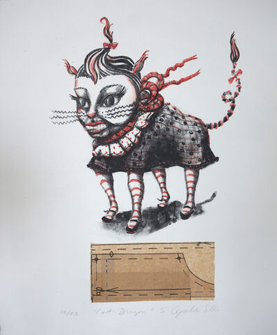 Stephanie Copoulos-Selle, 'Cat Dragon', 2006