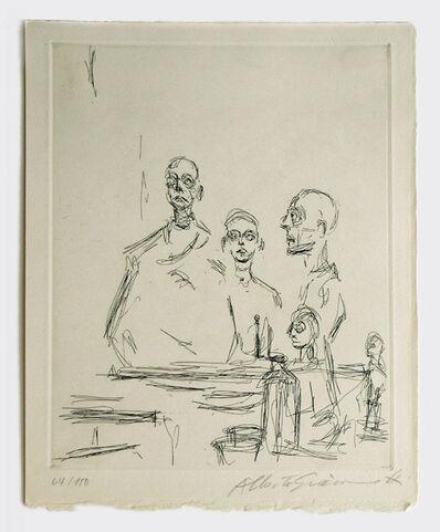 Alberto Giacometti, 'Sculptures dans L Atelier', 1964