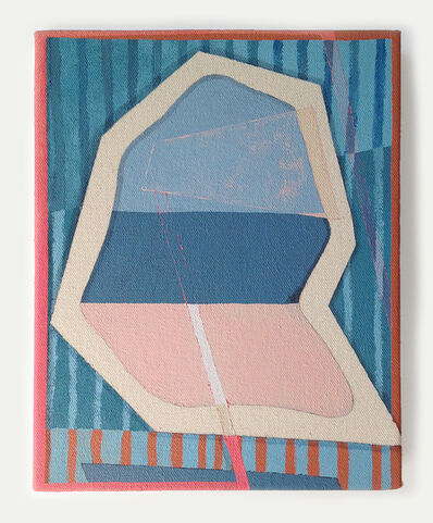 Max Manning, 'Center Canvas Form', 2014
