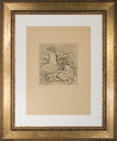 Pierre-Auguste Renoir, 'Les Deux Baigneuses (The Two Bathers)', 1895