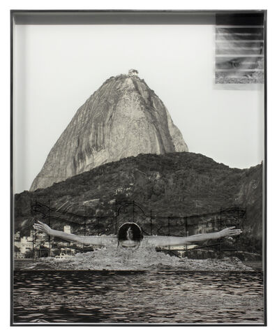JR, 'GIANTS, Léonie PERIAULT from France, Botafogo, close-up © Comité international Olympique, Work in progress, Rio de Janeiro, Brazil, 2017', 2017