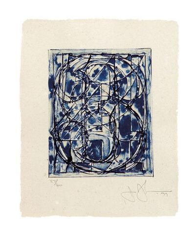 Jasper Johns, '0 through 9', 1977-1978