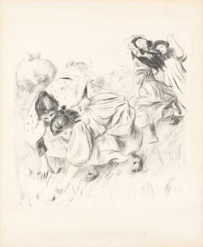Pierre-Auguste Renoir, 'ENFANTS JOUANT À LA BALLE (DELTEIL 32)', circa 1900