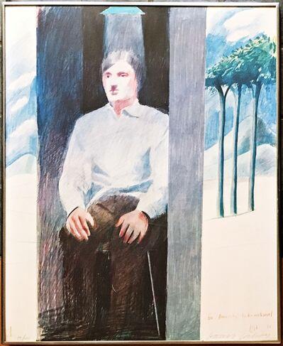 David Hockney, 'The Prisoner, for Amnesty International', 1977