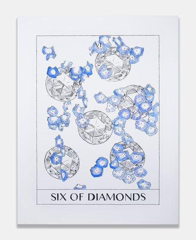 Mieke Marple, 'Six of Diamonds (Altruism)', 2018
