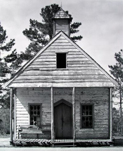 Walker Evans, 'Country Church near Beaufort, S.C.', 1935
