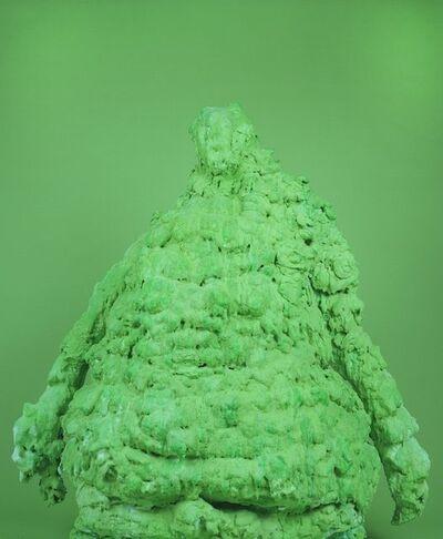 David Benjamin Sherry, 'Jade Juiced Emerald Earthquake Foreskin Forest Moss Mold', 2011