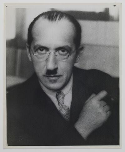 André Kertész, 'Piet Mondrian', 1926