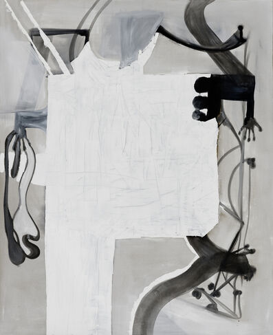Tobias Pils, 'Untitled (white & hand)', 2015