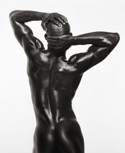 Herb Ritts, 'Djimon Three Quarter Nude (Back View)', 1989