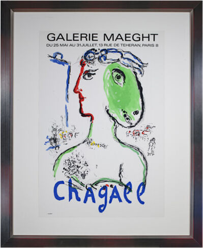 Marc Chagall, 'L'Artist Phoenix Poster', 1972