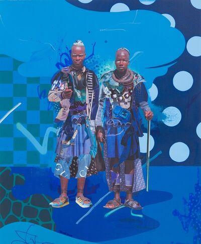 Yoh Nagao, 'Wonder Tribe Namibia: Himba Boyz', 2018