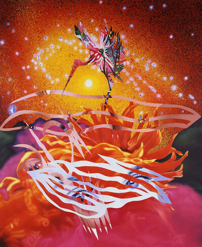 James Rosenquist, 'The Bird of Paradise Approaches the Hot Water Planet', 1988