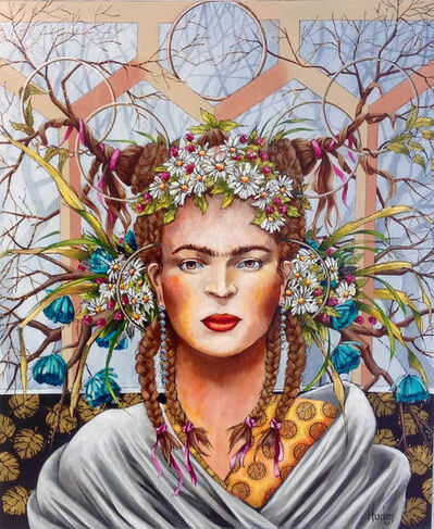Jean Jacques Hudon, 'Frida in the Forest'