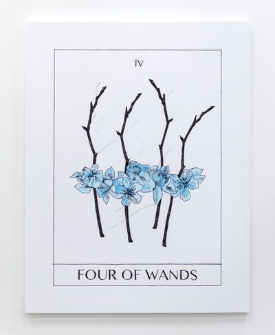 Mieke Marple, 'Four of Wands (Harmony and Completion)', 2018