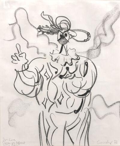 George Condo, 'Clown for Lisa', 1988