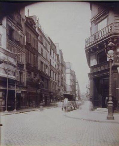 Eugène Atget, 'Rue St. Denis et Cossounerie', ca. 1900