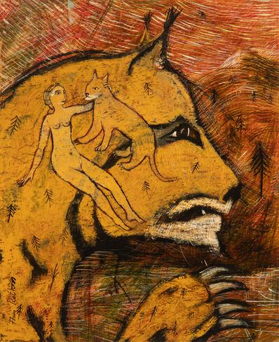 Franz Roth, 'Der Luchs und seine Freundin / Le lynx et sa copine', 2007