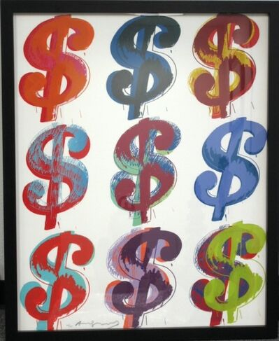 Andy Warhol, '$ (9) from the $ (9) Portfolio', 1982