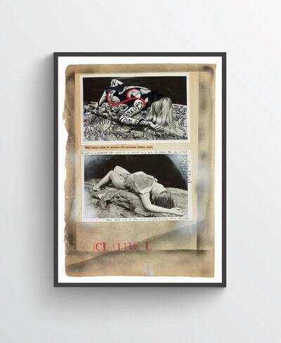 Dan Eldon, 'Nude Reclining on Rock', 2017