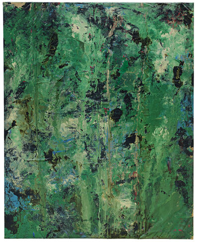 Luc Vandervelde Lux, 'Something Green in Brown', 2015